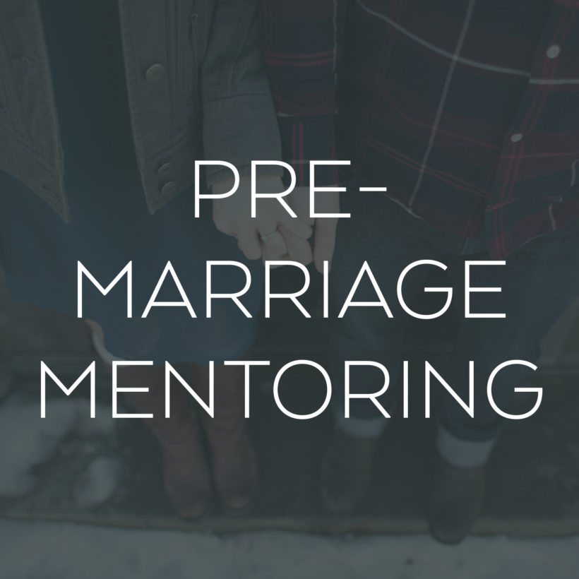 Pre-Marriage Mentoring